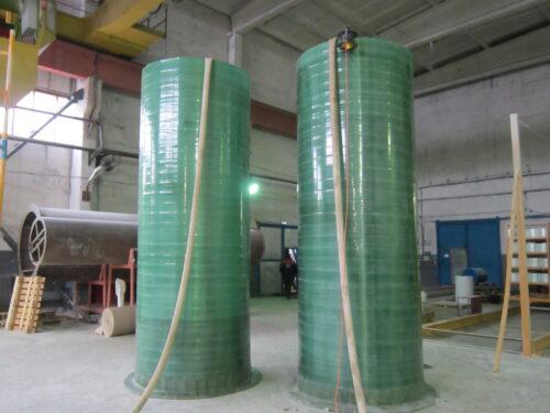 Испытание на герметичность водой.